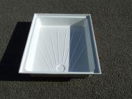 """018.  Fibreglass shower tray 24"""" x 36"""""""