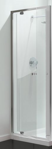 Petite Style Plus Silver Finish Pivot Shower Door